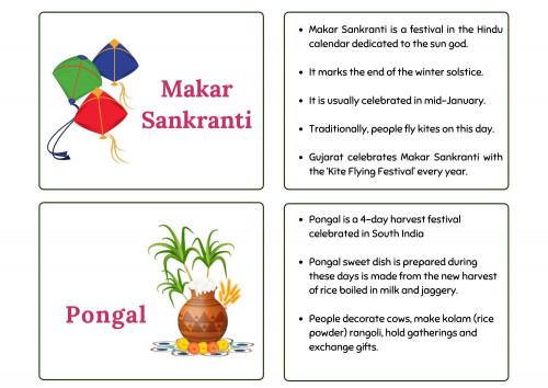 Indian Harvesting Festivals  - Lohri | Bihu | Pongal| Makar Sankranthi