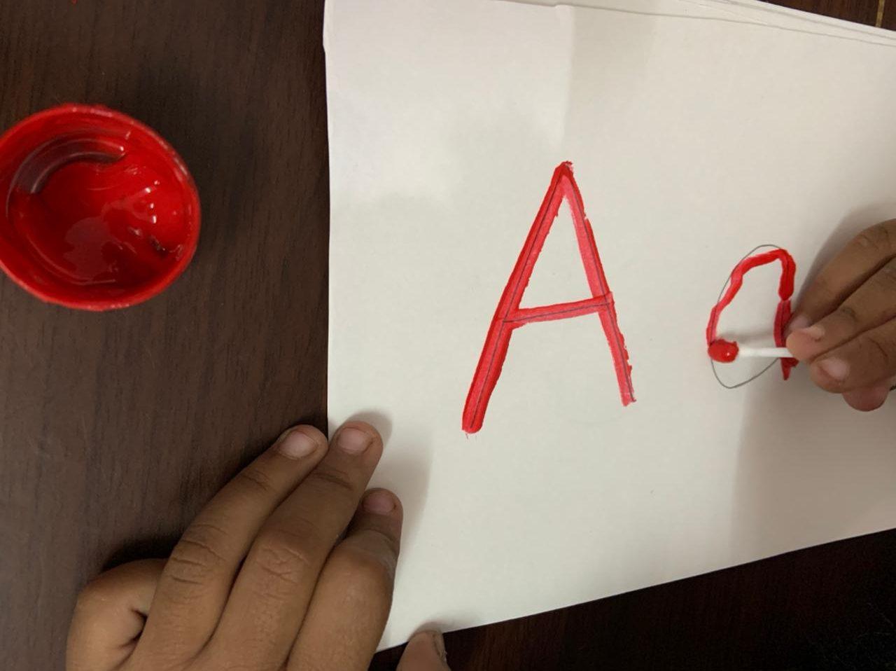 DIY Alphabet Flashcards | Fine Motor Skill Activity - Mummaworld.com