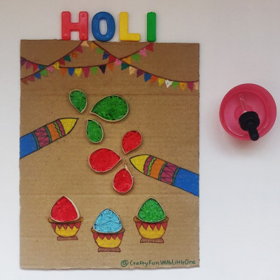 Colourful Fizzy Play - Holi Special
