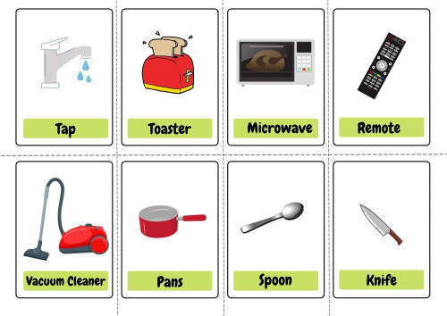 Everyday Objects Flashcards