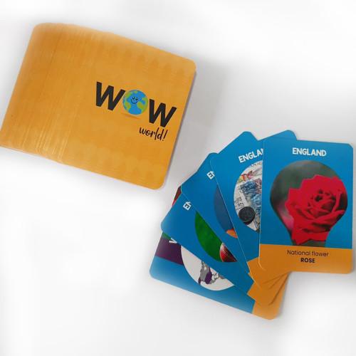 World Flash cards