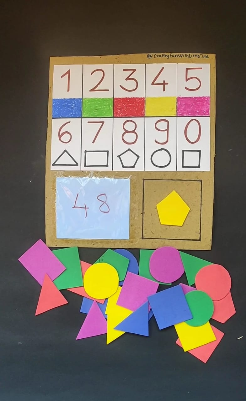 Colour, Shapes, Numbers