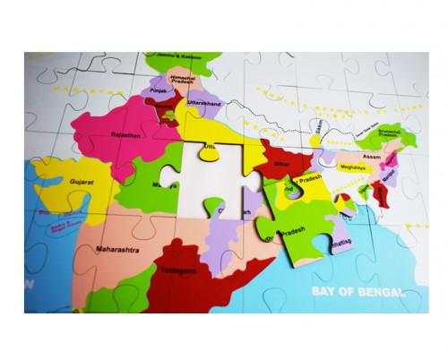 India puzzle