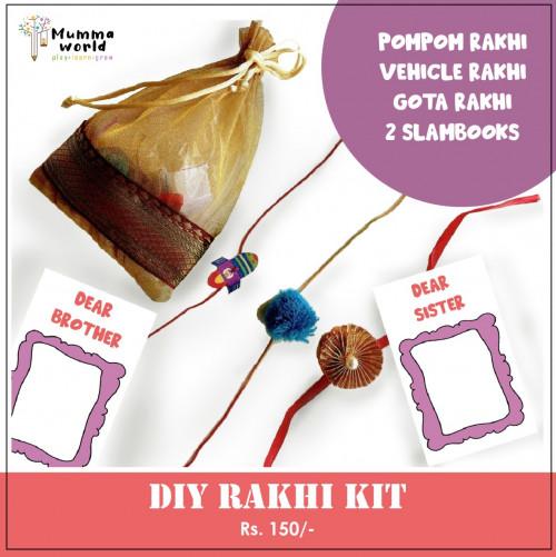 DIY Rakhi kit