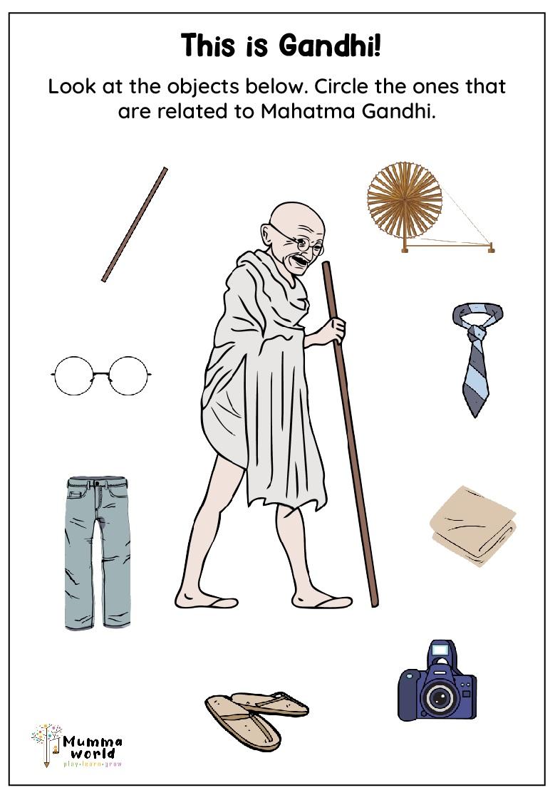 This is Gandhi Worksheet