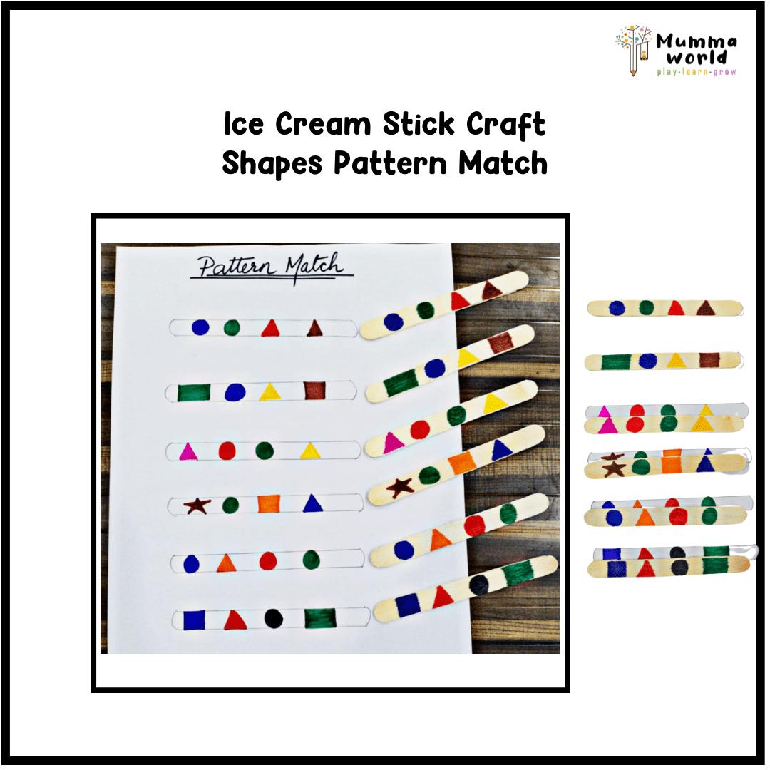 pattern shape match